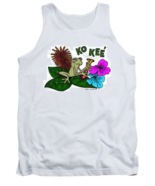 The Night Sound Of Puerto Rico Tank Top by Frank Hunter