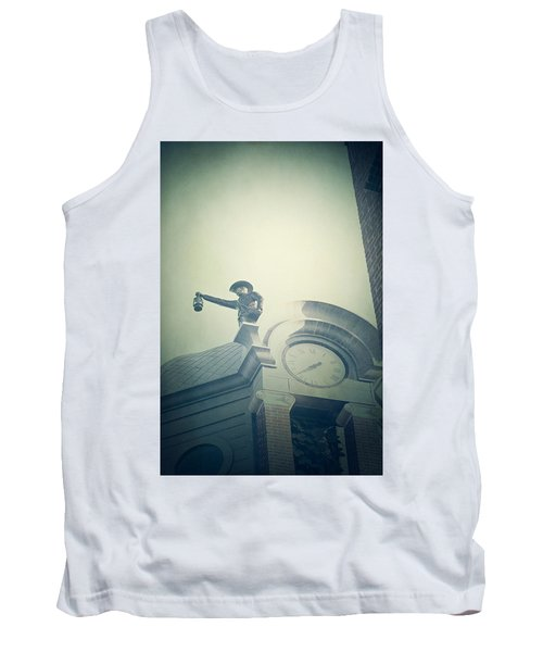 Tank Top featuring the photograph The Night Watchman by Trish Mistric