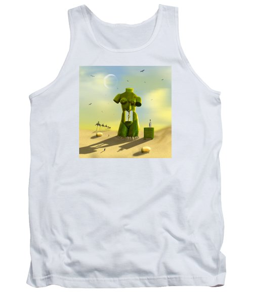 The Nightstand Tank Top by Mike McGlothlen