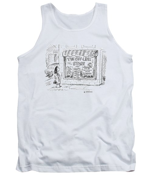The Off-line Store Tank Top