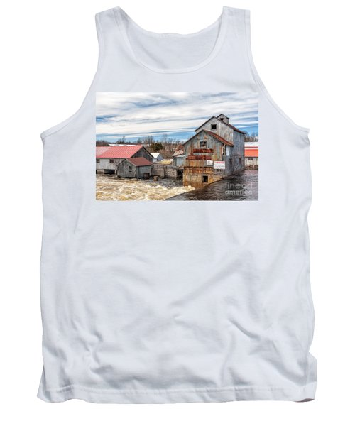 The Old Mill And The Raging River Tank Top