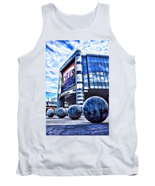 The Q - Home Of The 2016 Nba Champion Cleveland Cavaliers - 1 Tank Top