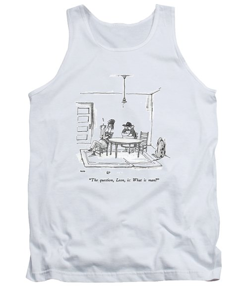 The Question Tank Top