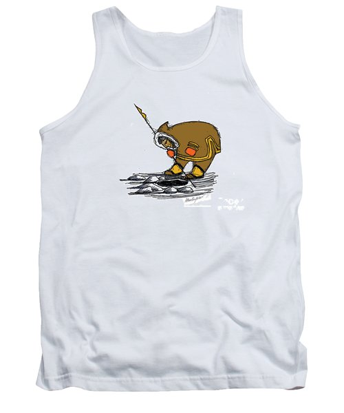 The Red Mittens Tank Top