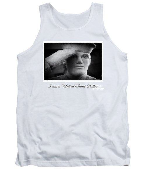 The Sailors Creed Tank Top by Tony Cooper