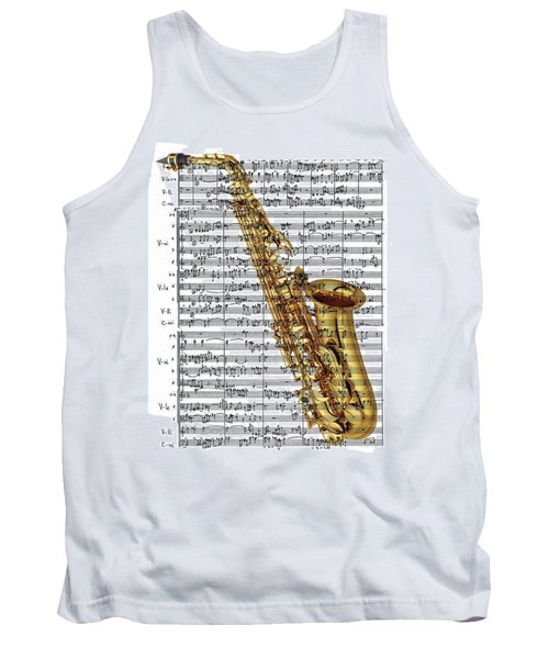 The Saxophone Tank Top