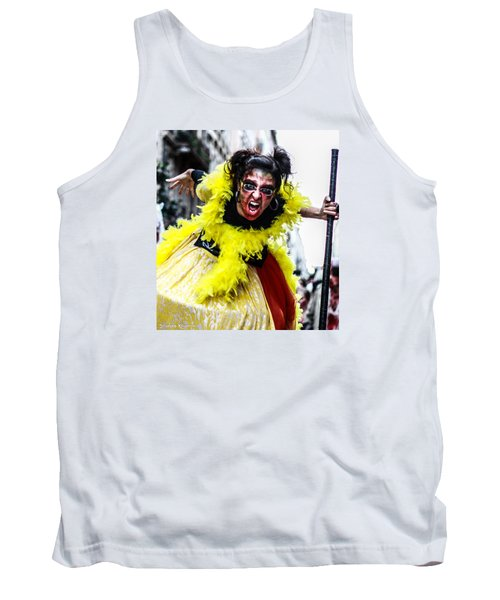 Tank Top featuring the photograph The Scream Crusher by Stwayne Keubrick
