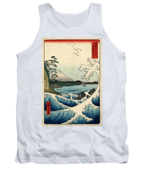 The Sea At Satta In Suruga Province Tank Top
