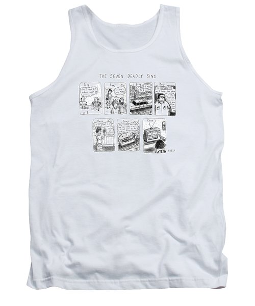 The Seven Deadly Sins Tank Top