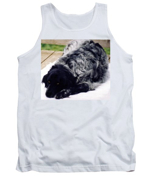 The Shaggy Dog Named Shaddy Tank Top