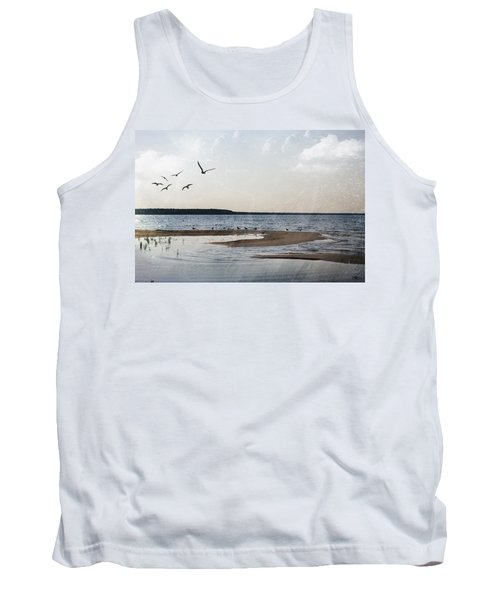 The Shallows At Whitefish Bay Tank Top