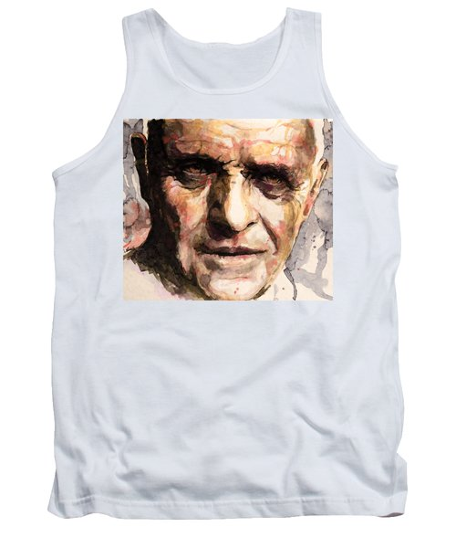 The Silence Of The Lambs Tank Top by Laur Iduc