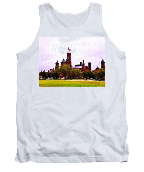 The Smithsonian Tank Top by Bill Cannon