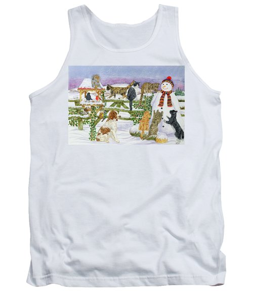 The Snowman And His Friends  Tank Top