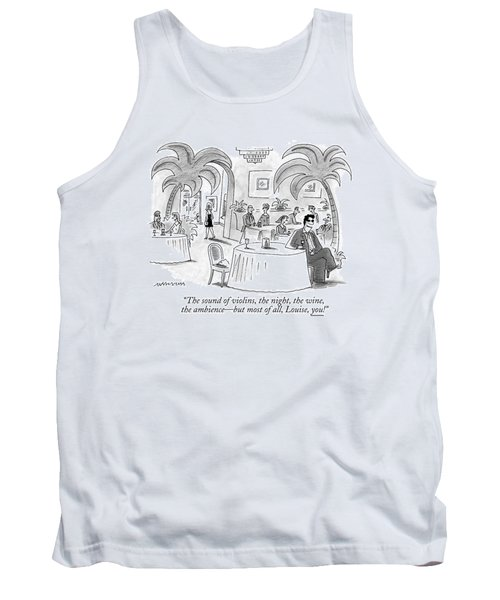 The Sound Of Violins Tank Top