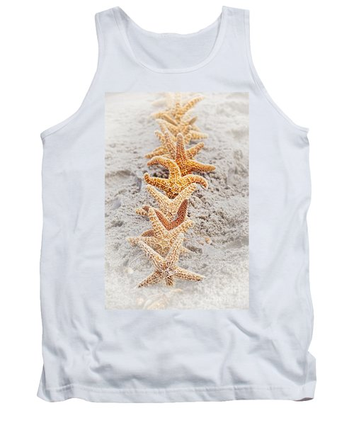 The Starfish Line Dance Tank Top