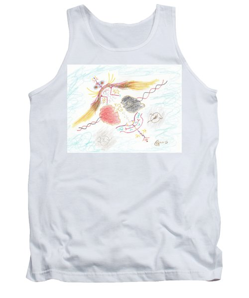 The Story Knows Best Tank Top by Mark David Gerson