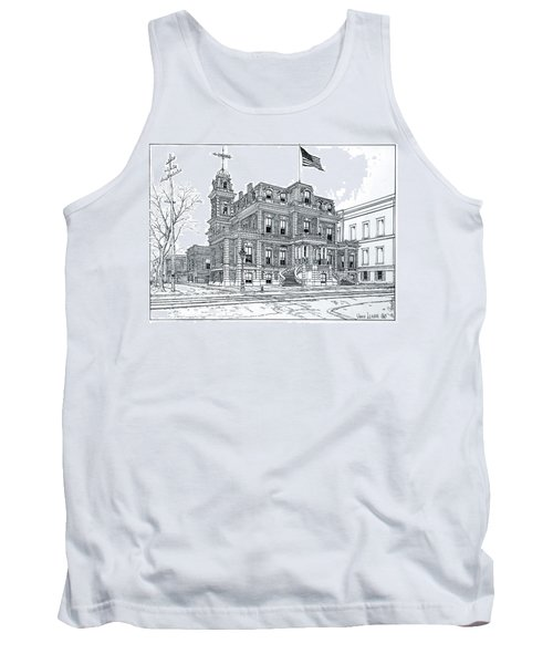 The Union League Philadelphia 1867 Tank Top by Ira Shander