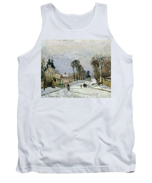 The Versailles Road At Louveciennes Tank Top