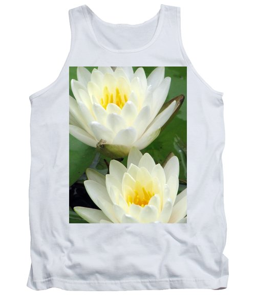 Tank Top featuring the photograph The Water Lilies Collection - 09 by Pamela Critchlow