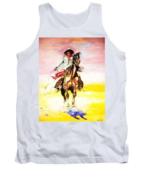 The Way Of The Vaquero Tank Top