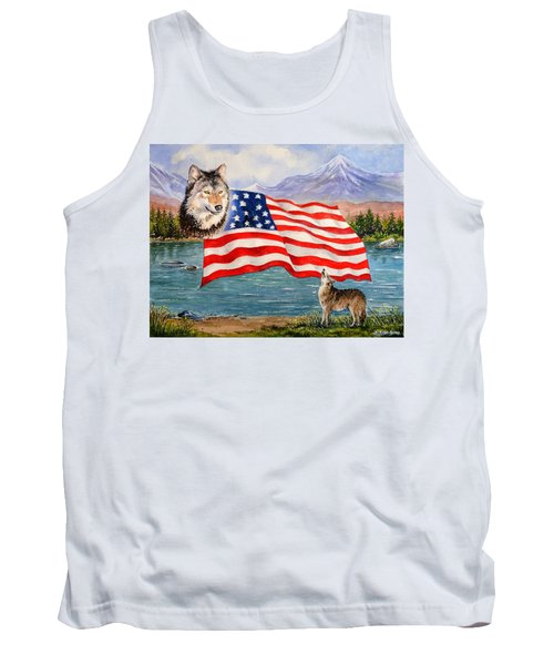 The Wildlife Freedom Collection 1 Tank Top
