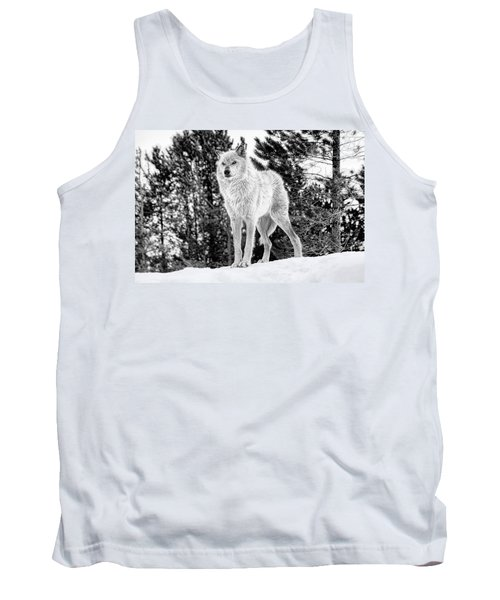The Wolf  Tank Top by Fran Riley