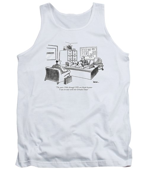 The Years 1966 Through 1995 Are Blank Because Tank Top