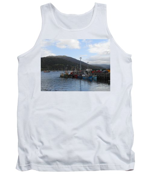 The Harbour At Ullapool Tank Top
