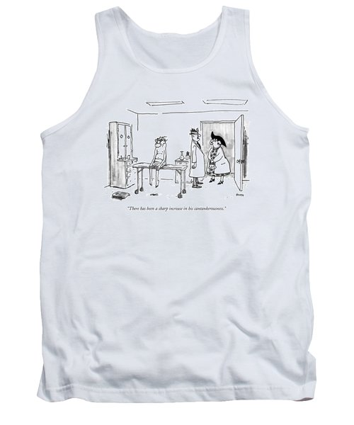 There Has Been A Sharp Increase Tank Top