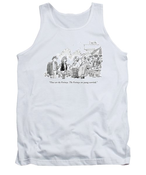 These Are The Fortneys.  The Fortneys Are Young Tank Top