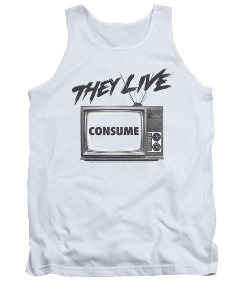 They Live - Consume Tank Top