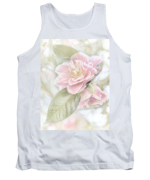 Tank Top featuring the photograph Think Pink by Peggy Hughes
