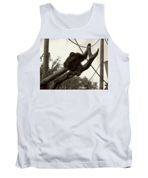 Tank Top featuring the photograph Thinking Of You Sepia by Joseph Baril