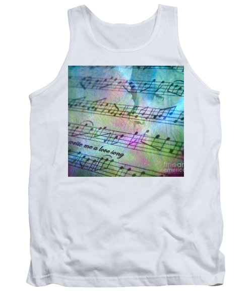 This Song's For You Tank Top by Irma BACKELANT GALLERIES