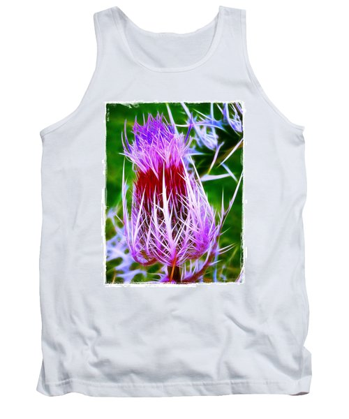 Thistle Tank Top by Judi Bagwell