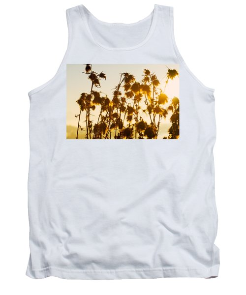 Thistles In The Sunset Tank Top by Chevy Fleet
