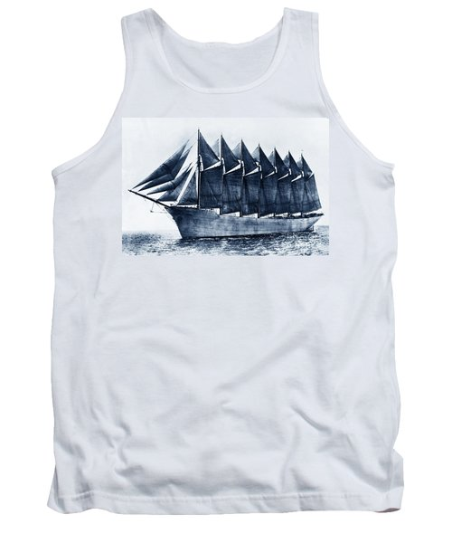 Thomas W. Lawson Seven-masted Schooner 1902 Tank Top