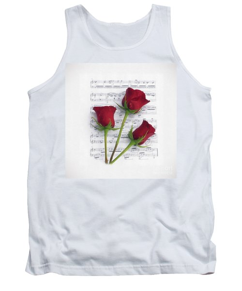 Three Rose Music Duvet Tank Top