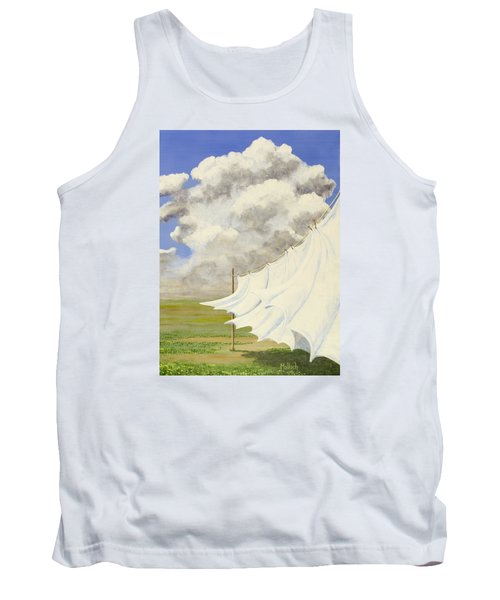 Three Sheets To The Wind Tank Top by Jack Malloch