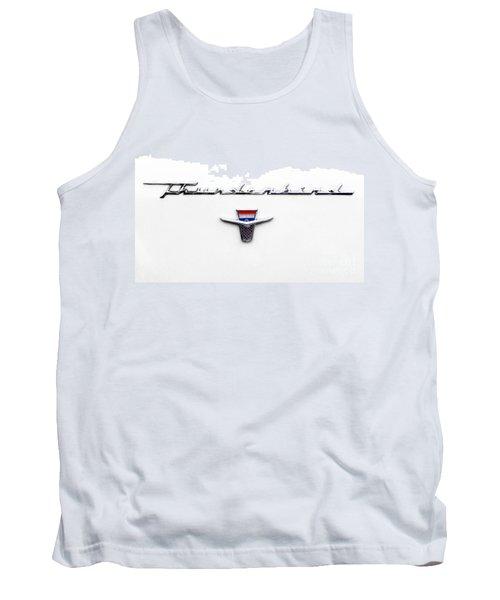 Thunderbird Tag Tank Top by Jerry Fornarotto