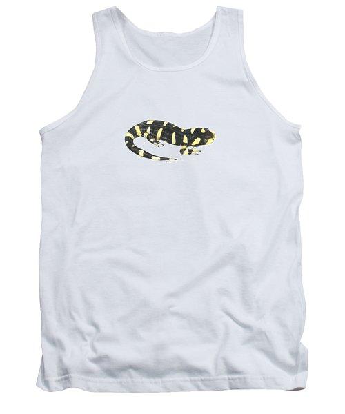 Tiger Salamander Tank Top by Cindy Hitchcock