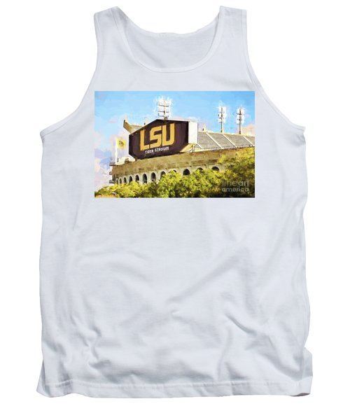 Tiger Stadium - Bw Tank Top