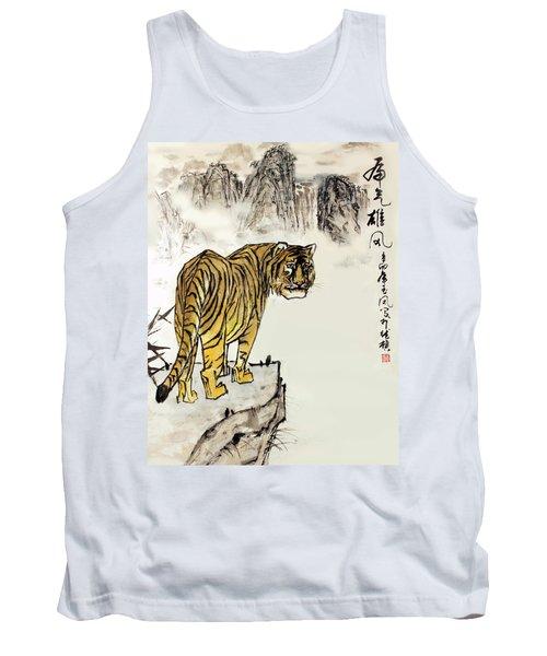Tiger Tank Top by Yufeng Wang