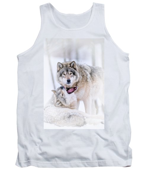 Timber Wolf Pictures 56 Tank Top
