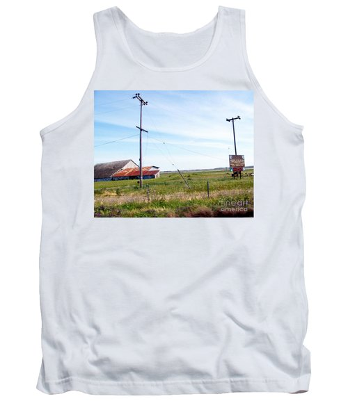 Tank Top featuring the photograph Time Passed By by Bobbee Rickard