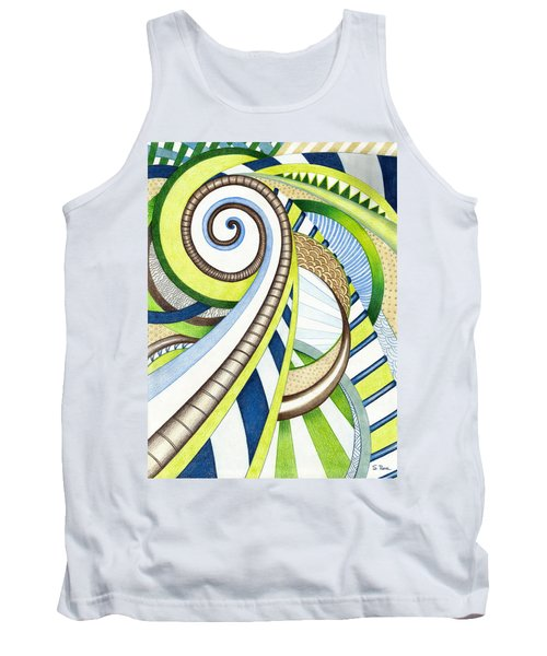 Time Travel Tank Top by Shawna Rowe