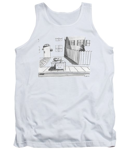 Title: Conspiracy Theories $10 A Boy Is Slumped Tank Top