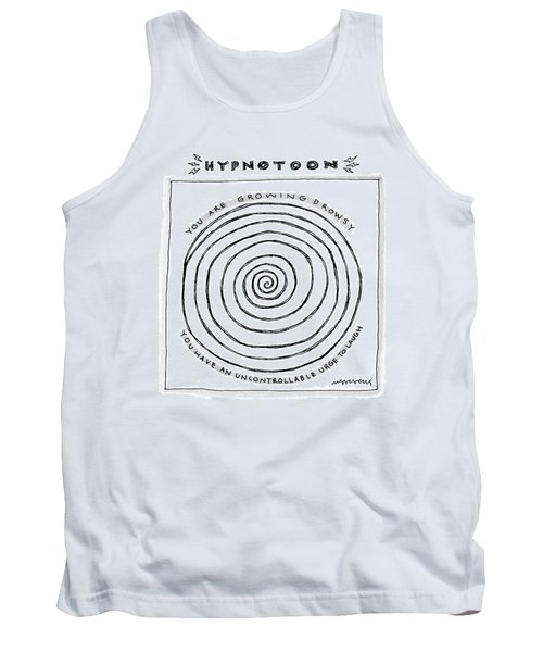 Title: Hypnotoon A Picture Of A Large Swirl - Tank Top