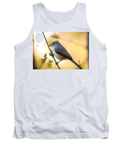 Titmouse In Gold Tank Top